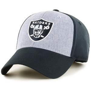 🔥30%OFF🔥🆕RAIDERS men's hat black/grey logo OSFA